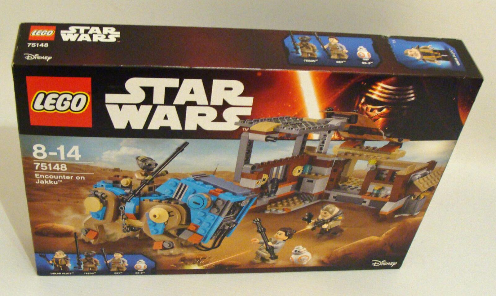 LEGO ® Star Wars 75148-Encounter on Jakku 530 parti 8-14 ANNI-NUOVO