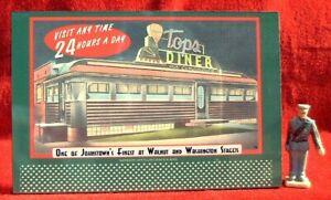 AREA 51 CHECKPOINT #37A/_/_/_O//S SCALE TINPLATE BILLBOARD