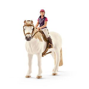 Schleich-Horse-Club-42359-Freizeitreiterin-mit-Pferd-Neu