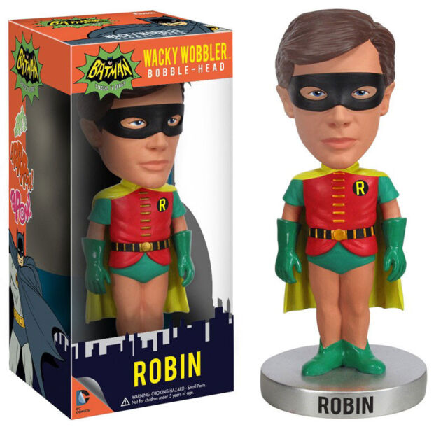 Batman - 1966 TV Series Robin Wacky Wobbler Bobble Head