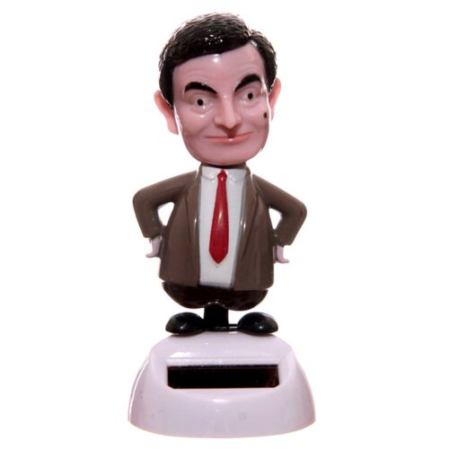 Mr Bean Figure Solar Powered The Dancing Bean Puckator Ornament Figurine NEW