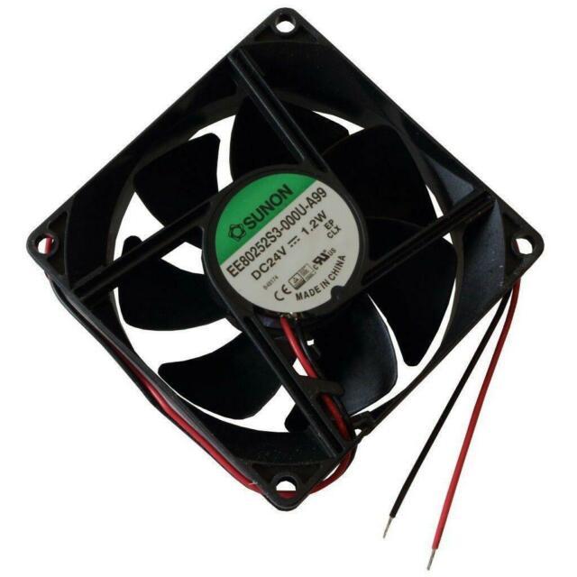 Sunon Axial Fan ee80252s1-a99 24v 80x25mm G 69,6m³//h 33dba 3200u//min 854919