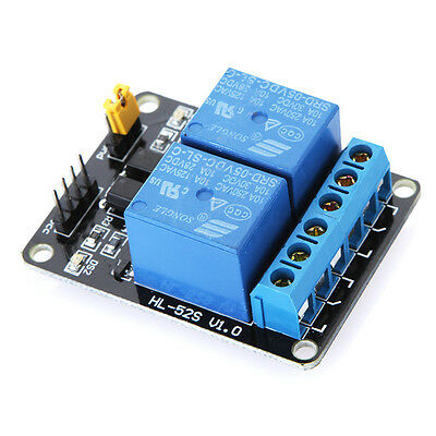 2 Channel 5V Relay Module Board Shield For PIC AVR DSP ARM MCU Arduino JUST