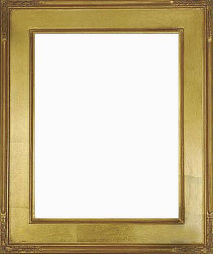 14 x 18  Plein Air Frame HandApplied Gold Leaf  Beautiful Style Top Quality