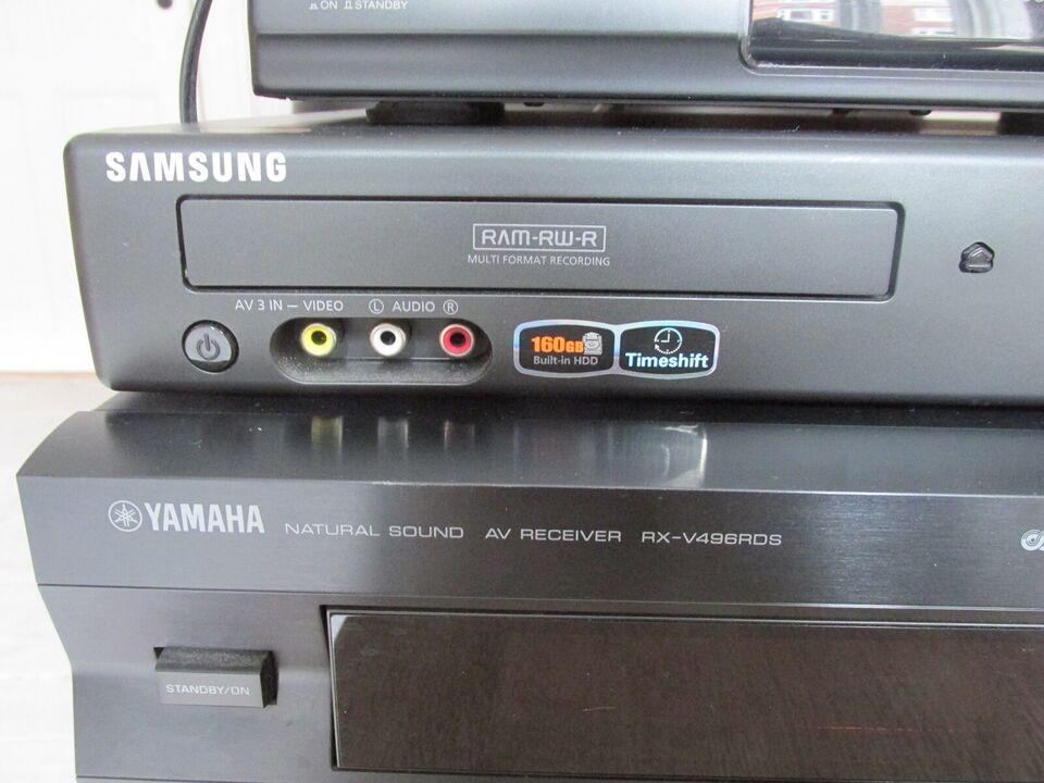 Forstærker, Yamaha, RX-V496RDS