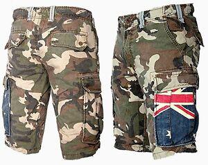 b41b931a6b Jet Lag Men's Cargo Bermuda Shorts short Trousers Army Camouflage ...