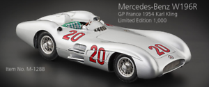 CMC EXCLUSIVE MODELLE 1 18 SCALE MERCEDES W196R STREAMLINER NUMBER 20 '54 KING