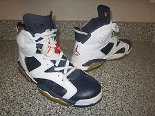 AIR JORDAN Olympic 6 - Vintage Men's 12 - #309387 Retro High Hi Tops Nike Shoes