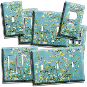 Details About Vincent Van Gogh Almond Blossom Painting Light Switch Outlet Wall Plate Cover