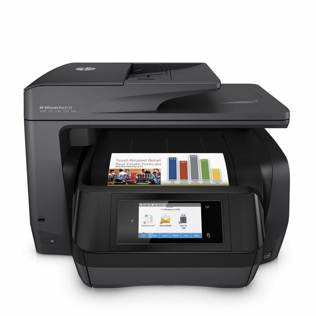 HP OfficeJet Pro 8720 All-in-One Wireless Printer with Mobile Printing (M9L74A)