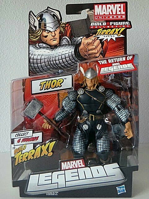 The Return of MARVEL LEGENDS_THOR 7  action figure_Build TERRAX Series_New & MIP