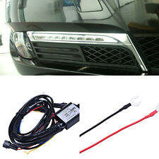 Universal Car Auto Daytime Running LED Light Relay DRL Controller Module Box New