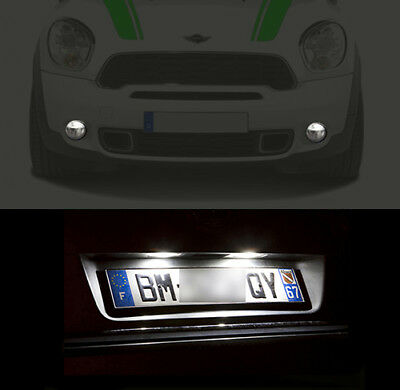 Fits Mini Cooper D Countryman ALL4 R60 White 4-LED Xenon ICE Side Light Bulbs