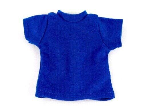 "Royal Blue T-Shirt Fits 18/"" American Boy or Girl Doll Clothes"