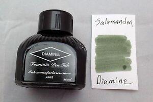 Diamine 80ml Fountain Pen Bottled Ink Salamander