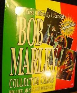 BOX-of-BOB-MARLEY-SIGNED-CARD-SKA-reggae-rasta-art-lot-Legend-Ziggy-1995-Jamaica