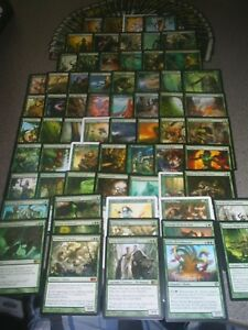 Mtg Magic Edh Elf Deck Yeva Hydra Lot Protean Broodmaster Elves