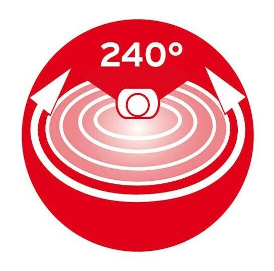 1170910 Grabar silla infrarrojos-detectores de movimiento PIR 240 ip44 blanco