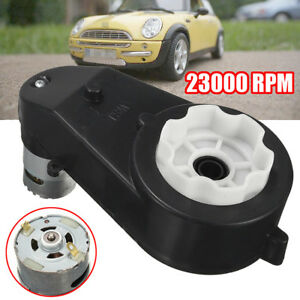 Details about 23000 RPM 12V Electric Motor Gear Box For Ride On Car Bike  Kids Toy Spare