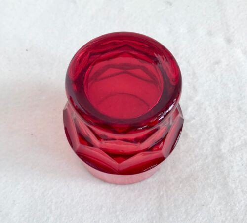 Viking Georgian Ruby Red 6 Oz Whiskey Glass