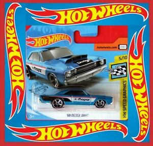 Hot-Wheels-2020-039-68-Dodge-Dart-70-250-neu-amp-ovp
