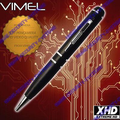 Home Security Camera Pen Cam 1080P Vimel 8GB HD Video USB drive