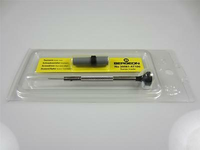 BERGEON 30081-AT-100 1.00MM WATCHMAKERS ERGONOMIC SCREWDRIVER INC SPARE BLADES