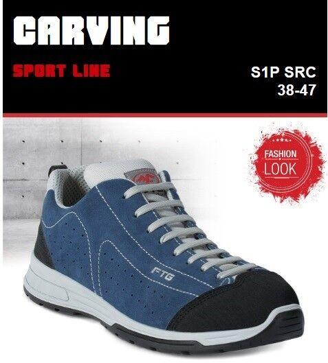 nuovo di marca SCARPE ANTINFORTUNISTICHE SPORT LINE LINE LINE FTG CARVING S3 SRC ESD  comprare sconti