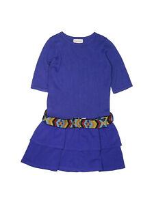 American Girl of the Year GOTY Saige Meet Blue Dress Aztec Belt Size 10
