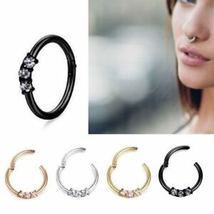 Triple-Gem-Septum-Clickers-Hinged-Segment-Crystal-Rings-Tragus-Daith-Cartilage