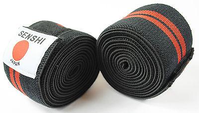 Kniestütze Knee Wraps Knie Riemen Gewichteheben Training Elastisch Olympia