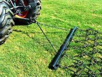 Pasture Drag Chain Harrow 6' X 5'-6 Landscape Arena Rake