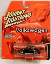 1950 '50 VOLKSWAGEN VW BEETLE BUG SPLIT WINDOW BLACK JL JOHNNY LIGHTNING DIECAST