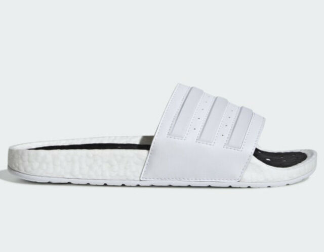 ADIDAS Adilette Boost Slides EG1909 White Men's Size 13