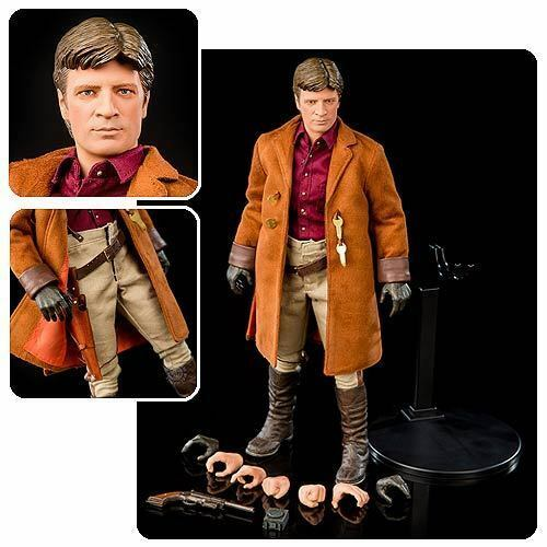 Firefly Malcolm Reynolds 1:6 Scale Action Figure NEW QMx