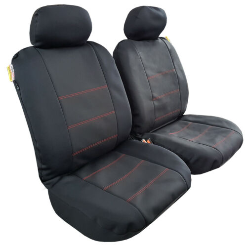 Wetsuit Waterproof Neoprene Airbag Seat Cover 4 Colors For Toyota Tacoma Trucks