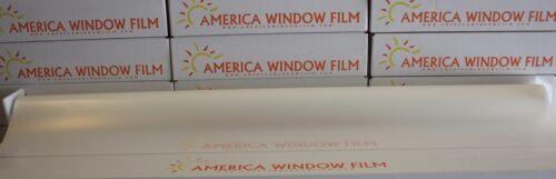 "WINDOW FILM TINT WHITE MATTE 2 PLY 20/"" X 10 FT FROST WHITE"