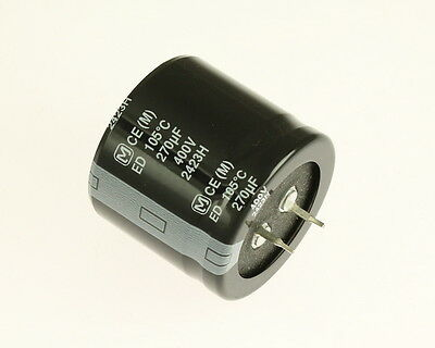 20x 220uF 200V DC Radial Snap Mount Electrolytic Capacitor 220mfd 200VDC 105C
