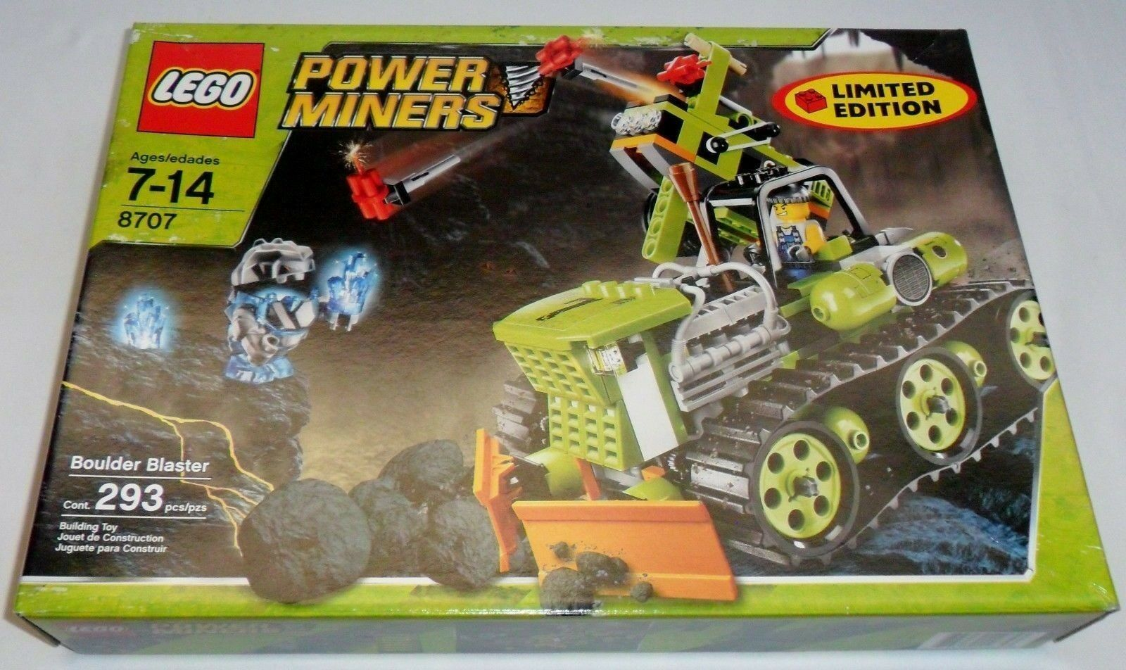 Lego Power Miners Miners Miners Boulder Blaster New Sealed 966578