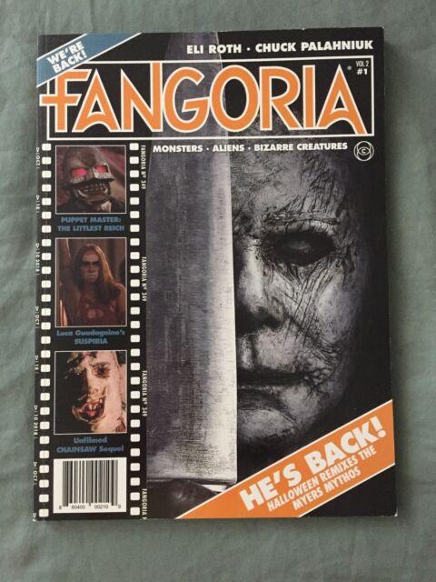 Fangoria Issue 1 Halloween 2020 Fangoria Magazine Volume 2 Issue #1 Halloween Eli Roth Chuck