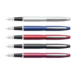 Sheaffer VFM Fountain Pen, Nickel Trim - Gift Box - Medium Nib - ALL Colours