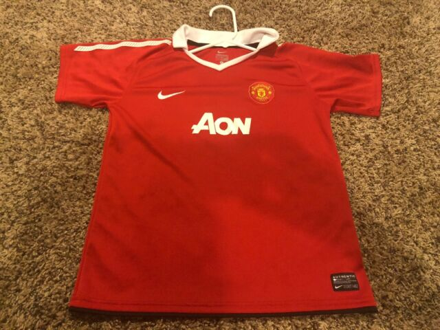 info for 2f6b3 1faa6 Nike Manchester United Soccer Jersey Size XL