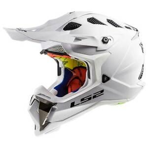LS2-Subverter-MX470-Single-Mono-Gloss-White-Moto-Off-Road-Motorbike-Helmet