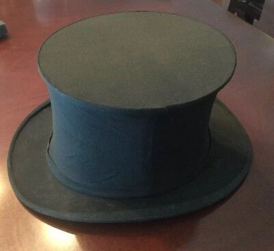 Circa 1920 Collapsable Top Hat By Austin Reed Regent Street In Original Card Box Ebay
