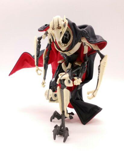 no figure Black /& Red Cape for Star Wars Black Series General Grievous