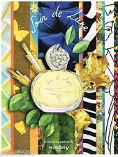 PUBLICITE ADVERTISING 095  2007  SISLEY  le nouveau parfum  SOIR DE LUNE