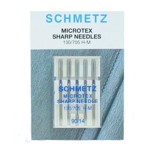 Full Range of Sizes Available! Schmetz Microtex Machine Needles
