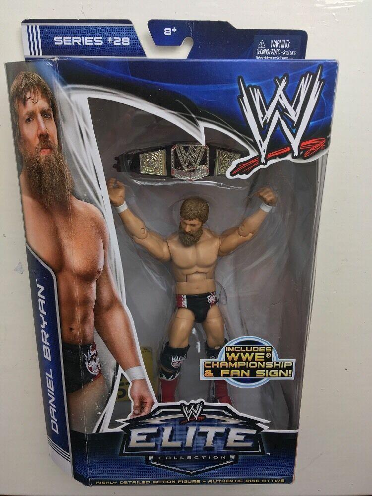 RARE WWE BOXED DANIEL BRYAN ELITE SERIES 28 MATTEL WRESTLING FIGURE