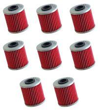8 Pack Oil Filters Pro Series Powersports Cartridge K/&N KN-113