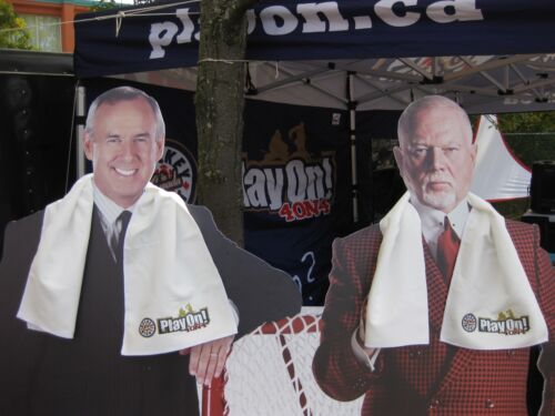 Cooling Towel Cool Canuck Team Hockey Night Canada PLAY ON Don Cherry
